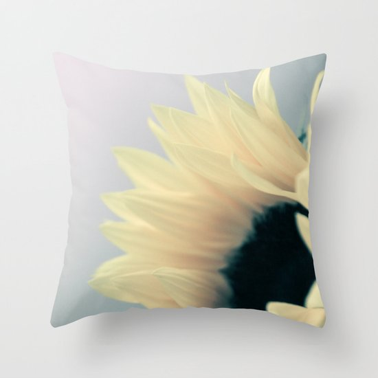 the last greeting of summer Throw Pillow
