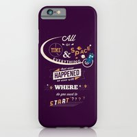 doctor who iPhone & iPod Cases featuring Doctor Who  by Risa Rodil