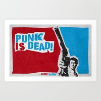 Punky Harry Art Print