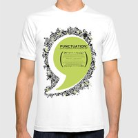 Punctuation [Appreciatio… Mens Fitted Tee White SMALL