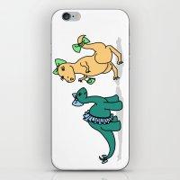 Dino-Mite Gal iPhone & iPod Skin
