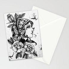 Gipsy Girl - TATTOO Stationery Cards