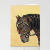 Horse - Portrait Stationery Cards