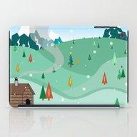 Mountain Christmas iPad Case