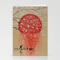 japan Stationery Cards featuring Japan by Japan Art