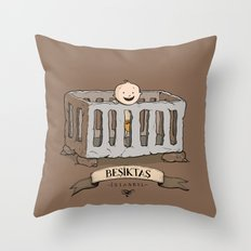Besiktas, Istanbul Throw Pillow
