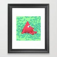 Mtn Framed Art Print