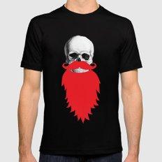 Beard Skull SMALL Black Mens Fitted Tee