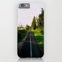iPhone & iPod Case featuring A long & narrow Road by Chris' Landscape Images of Australia