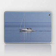 Sailboat Motors Up The R… Laptop & iPad Skin
