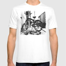 Urban cruiser White Mens Fitted Tee SMALL