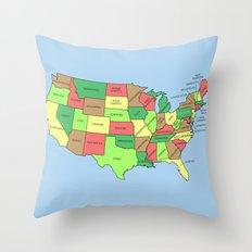 This Land Isn't Your Land Throw Pillow