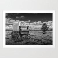 Prairie Schooner Covered… Art Print