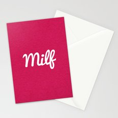 Milf Funny Quote Stationery Cards