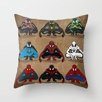 Spider-man - The Year Of… Throw Pillow