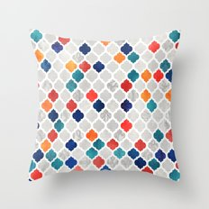 Sea & Spice Moroccan Pattern Throw Pillow