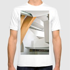 Intersect SMALL White Mens Fitted Tee