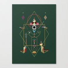 the last emperor Canvas Print