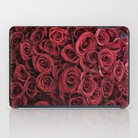 Flower Market 3 - Red Roses iPad Case