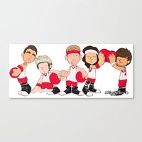 Dodgeball  Canvas Print