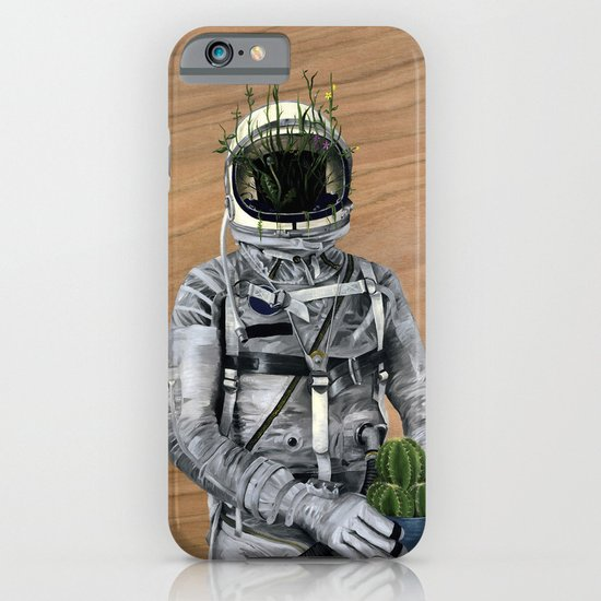 Cacti | Spaceman No:1 iPhone & iPod Case