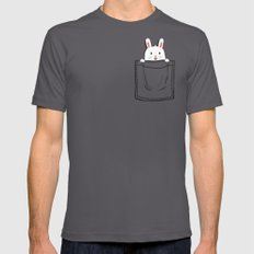 My Pet Mens Fitted Tee Asphalt SMALL