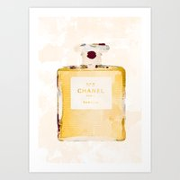 Chanel Nº5 Art Print