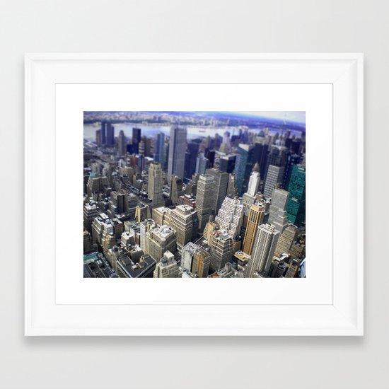 New York in 20 pics - Pic 10. Framed Art Print
