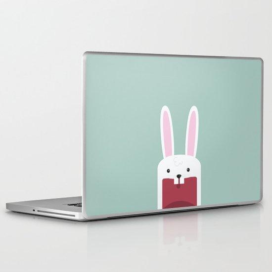 Jawdrop Bunny Laptop & iPad Skin
