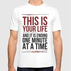 Fight Club - This is Your Life... Mens Fitted Tee White SMALL