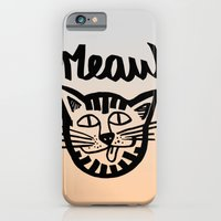CAT MEAW FACE iPhone 6 Slim Case
