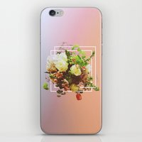 Cubic Bouquet iPhone & iPod Skin