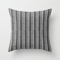 Herringbone Stripe Throw Pillow