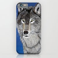 iPhone & iPod Case featuring Wolf by maggs326