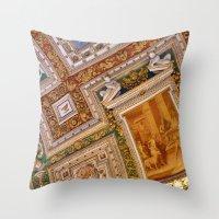 Vatican Ceiling #1 Throw Pillow