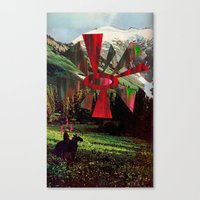 Canvas Print featuring Brightness in the Sky by Alicia Ortiz