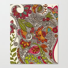 Random Flowers Canvas Print