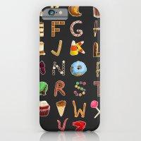 iPhone & iPod Case featuring Dessert Alphabet  by Shana Marie