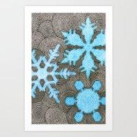 Nemo's Holiday Card 2013 Art Print