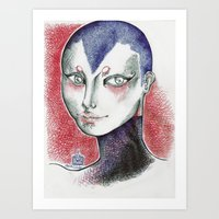 AlienANA  Art Print
