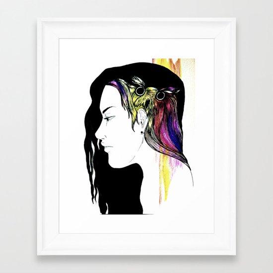 Owlong Framed Art Print