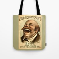 Vintage Comedy Poster Pu… Tote Bag