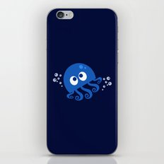 Bubbly Octopus iPhone & iPod Skin