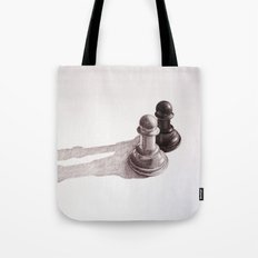 Chess Pawns Tote Bag