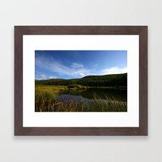 Hatcher's Hike (Alaska Landscape) Framed Art Print