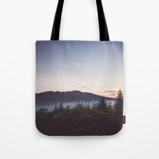 Night is coming Tote Bag