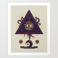 All Seeing Art Print