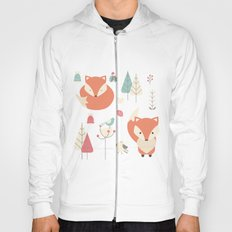 Baby fox pattern 01 Hoody