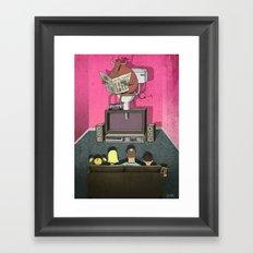 What's On TV Framed Art Print
