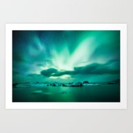 Aurora Borealis. Art Print